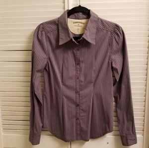 John Varvatos women dress shirt with strip